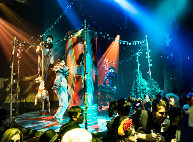 The McKittrick Hotel turned into the city's hottest night club this Halloween.