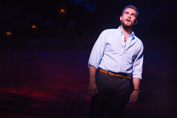 Josh Segarra plays Emilio Estefan in On Your Feet!