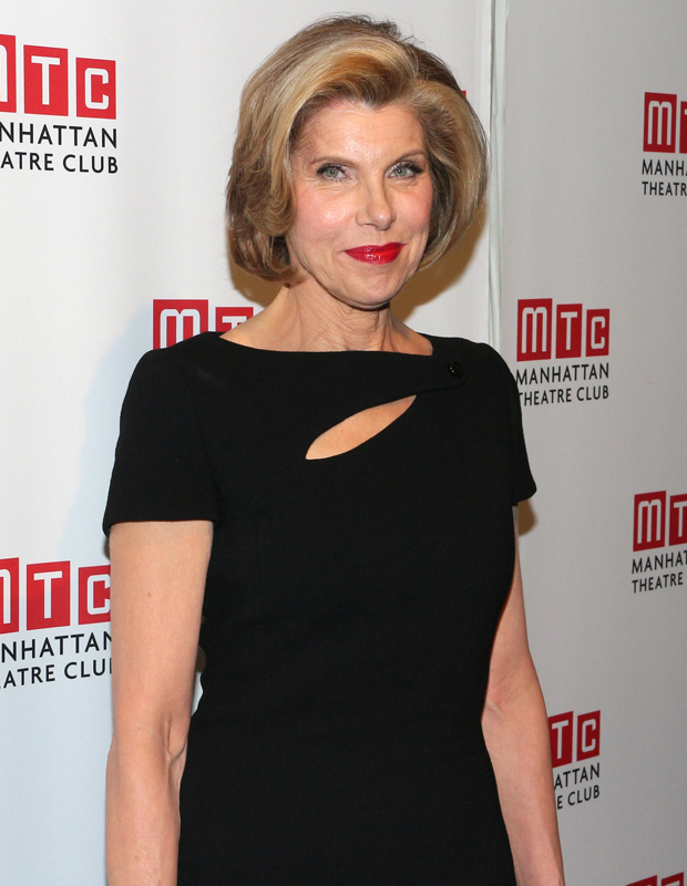 Tony- and- Emmy-winner Christine Baranski is honored by Manhattan Theatre Club.