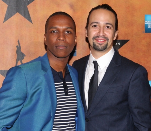 Hamilton stars Leslie Odom Jr. and Lin-Manuel Miranda are both eligible to be nominated for a Tony in the category of Best Performance by an Actor in a Leading Role in a Musical.