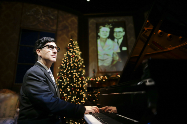A scene from Hershey Felder as Irving Berlin.