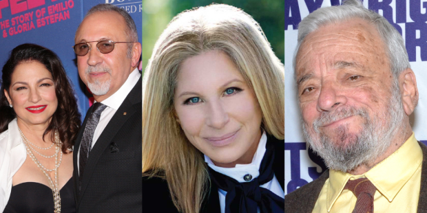 Gloria Estefan, Emilio Estefan, Barbra Streisand, and Stephen Sondheim will receive 2015 Presidential Medals of Freedom.