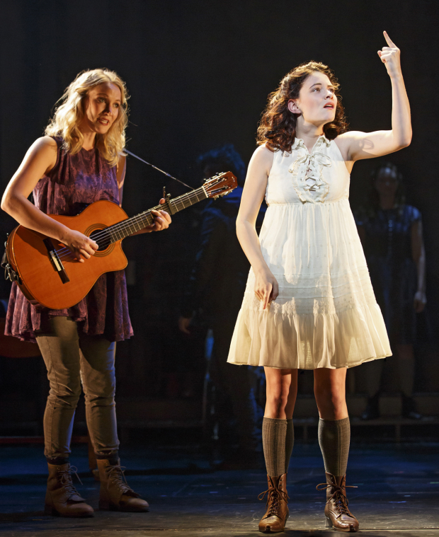 Katie Boeck and Sandra Mae Frank have been nominated for a Clive Barnes Award for playing the role of Wendla in Spring Awakening.