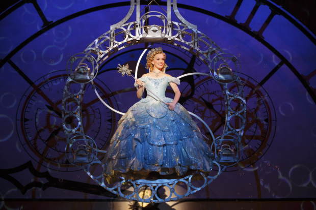 Kara Lindsay plays Glinda in Broadway's Wicked, a show you can see twice on Friday, November 27 due to this year's Thanksgiving week performance schedule.