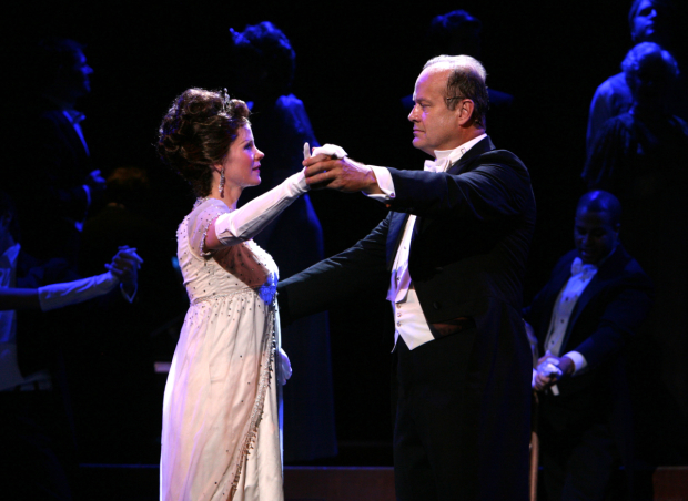 Kelli O'Hara and Kelsey Grammer in the New York Philharmonic's 2007 production of My Fair Lady.