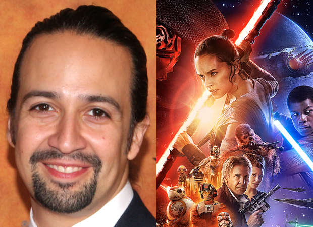 Lin-Manuel Miranda has composed a tune for J.J. Abrams' Star Wars: The Force Awakens.