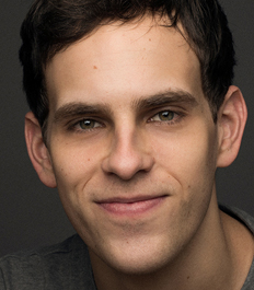 Taylor Trensch performs in the new play Clarkston, which begins tonight at Dallas Theater Center.