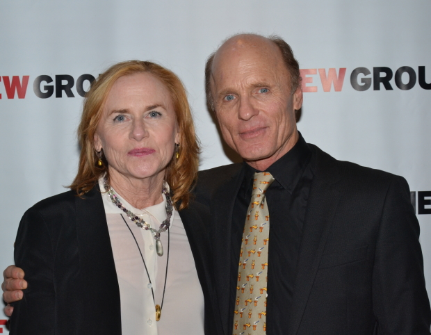 Spouses Amy Madigan and Ed Harris will costar in the New Group revival of Sam Shepard's Pulitzer Prize-winning Buried Child at the Pershing Square Signature Center.