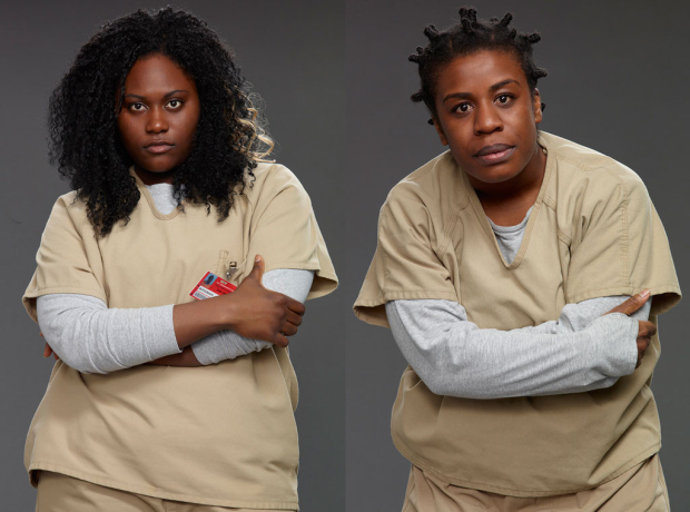 Danielle Brooks and Uzo Aduba are two of 18 Broadway vets from Orange is the New Black nominated for 2016 Screen Actors Guild Awards.