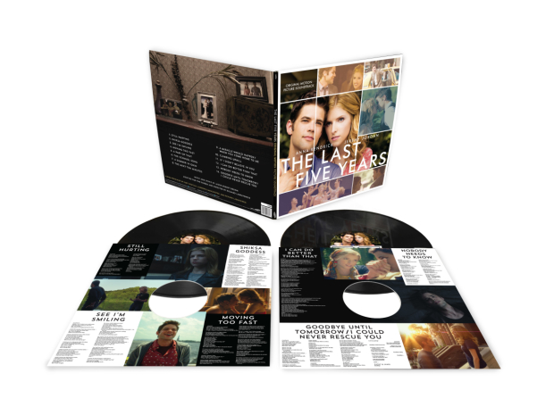 A look at the packaging of the new vinyl release of The Last Five Years.