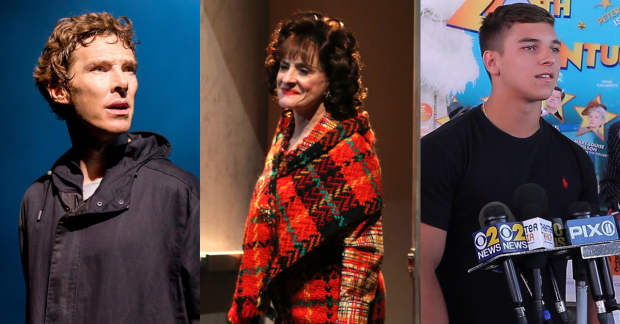 Benedict Cumberbatch, Patti LuPone, and Nick Silvestri all had problems with cell phones at the theater this year.