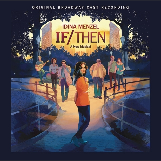 The official artwork for the If/Then cast recording vinyl release.