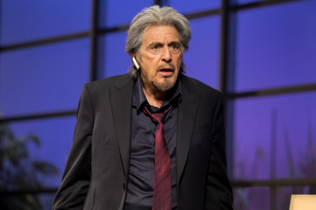 Al Pacino spends most of David Mamet's China Doll on the phone.