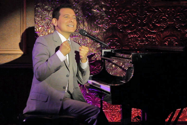 Michael Feinstein performs at the newly renamed Feinstein's/54 Below.