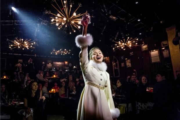 Phillipa Soo starred in the off-Broadway production of Dave Malloy's Natasha, Pierre & the Great Comet of 1812 at Kazino.