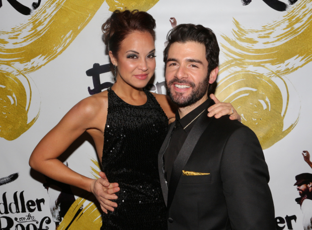 Fiddler on the Roof stars Alexandra Silber and Adam Kantor will perform in #tbtLIVE Throwback Thursday: The Concert.