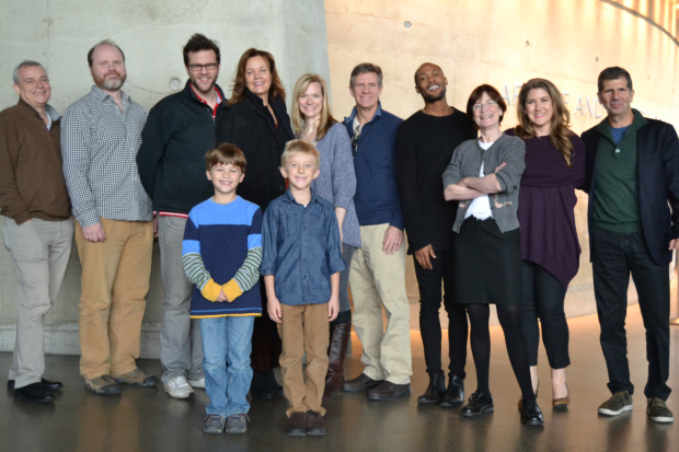The company of The City of Conversation, running January 29 - March 3.
