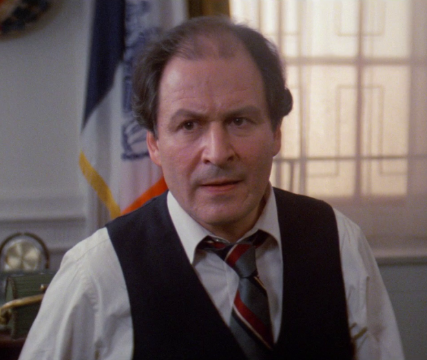 David Margulies as the Mayor of New York in the 1984 film Ghostbusters.
