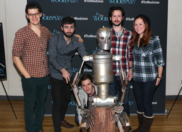 The team behind The Woodsman introduce their puppet costar, The Tin Man.