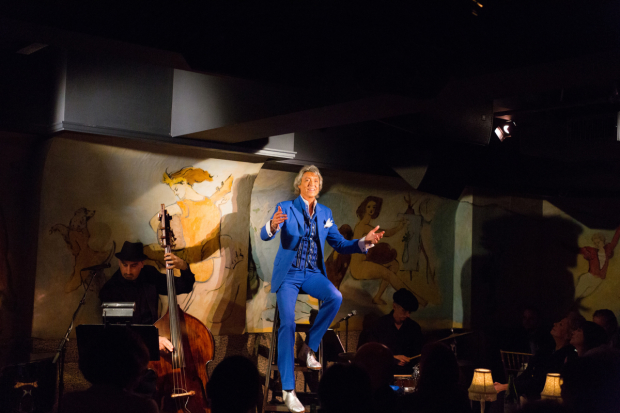 "Tommy Tune sings Up on the Roof"" in Tommy Tune Tonight!'' at Café Carlyle."