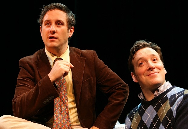 Christopher Fitzgerald and Jeremy Shamos will bring their 2007 performances in Gutenberg! The Musical! back to life at Feinstein's/54 Below.