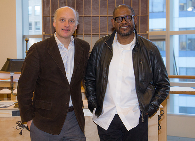 Frank Wood and Forest Whitaker star in a new Broadway revival of Eugene O'Neill's drama Hughie.