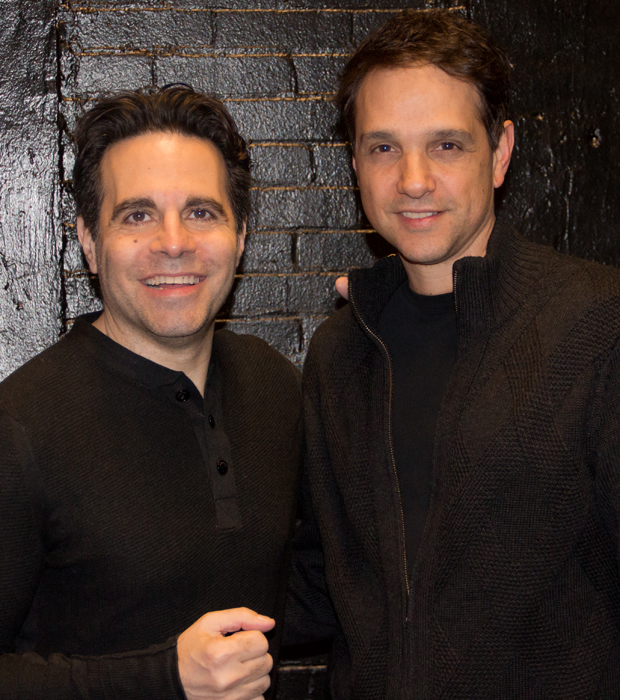 Mario Cantone and Ralph Macchio head the cast of Charles Messina's new play, A Room of My Own.