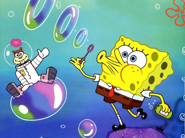 Sandy Cheeks and SpongeBob SquarePants will come to the stage in The SpongeBob Musical.
