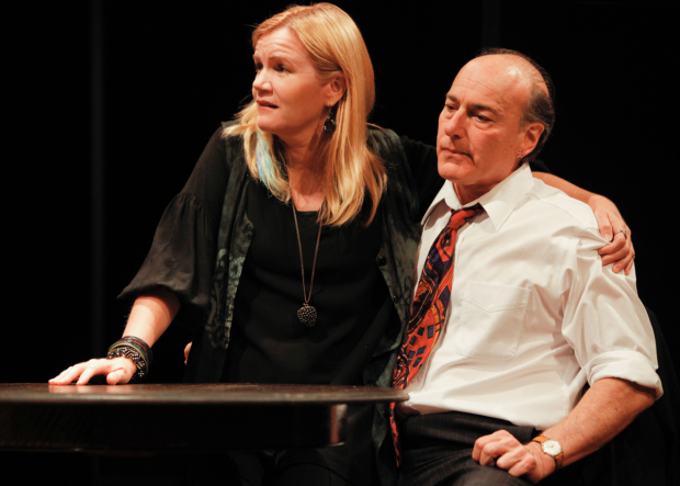 Mare Winningham and Peter Friedman first played a couple in the 2010 Playwrights Horizons production of Amy Herzog's After the Revolution.