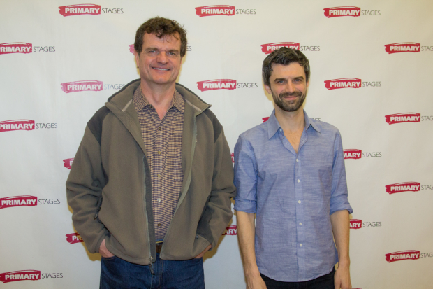 Michael Cumpsty and Mike Crane star in the upcoming Primary Stages production of The Body of an American.