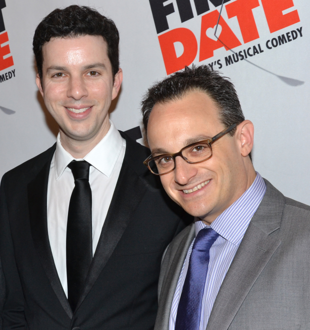Alan Zachary and Michael Weiner are the coauthors of the new musical 17 Again.