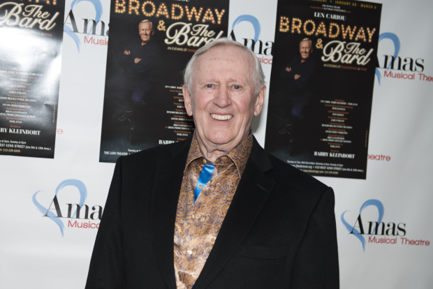 Len Cariou stars in his new Shakespeare-inspired solo show, Broadway and the Bard.