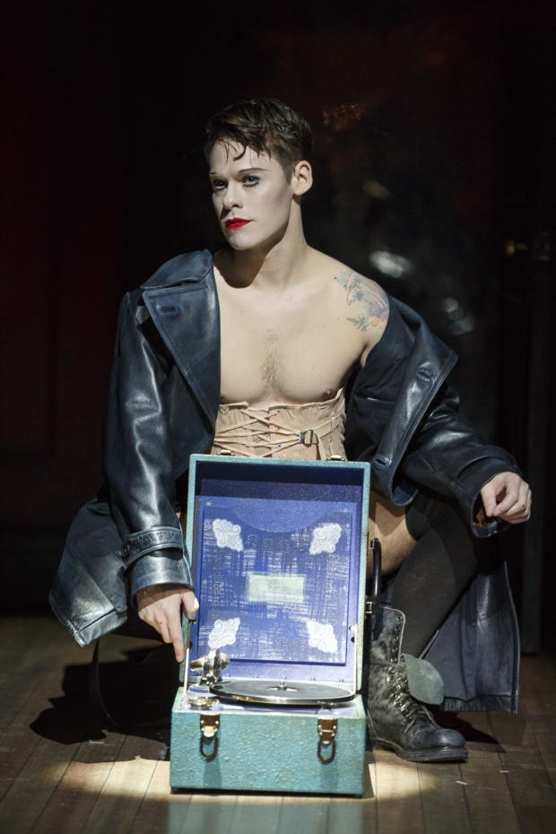 Randy Harrison as the Emcee in Cabaret.
