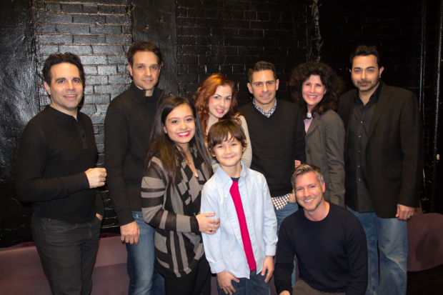 The cast of A Room of My Own, opening February 25 at the June Havoc Theatre.
