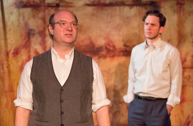 David Volin and Daniel Fredrick in Red at Walnut Street Theatre's Independence Studio on 3.
