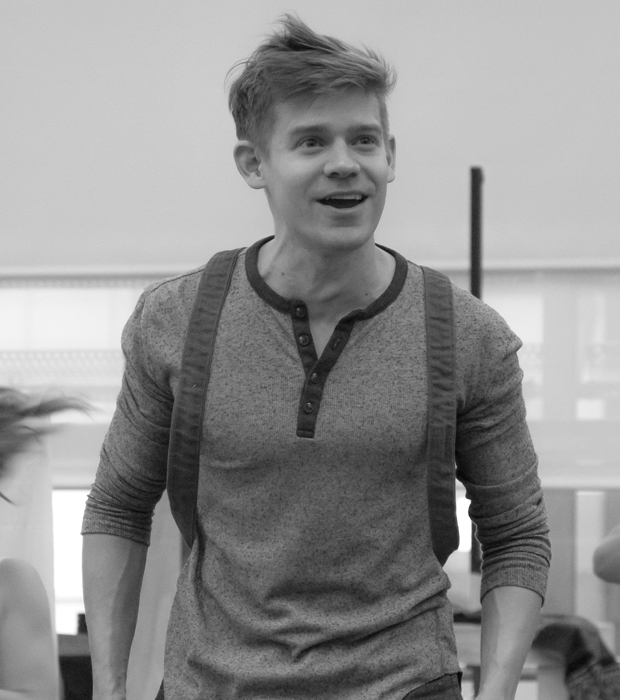 Andrew Keenan-Bolger heads the cast of Tuck Everlasting as Jesse Tuck.