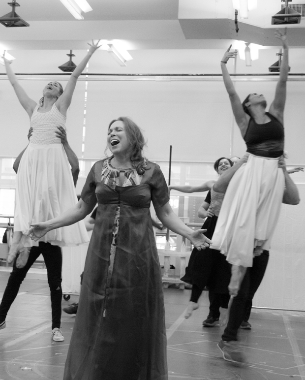 Carolee Carmello blows the roof off of the New 42nd Street Studios.