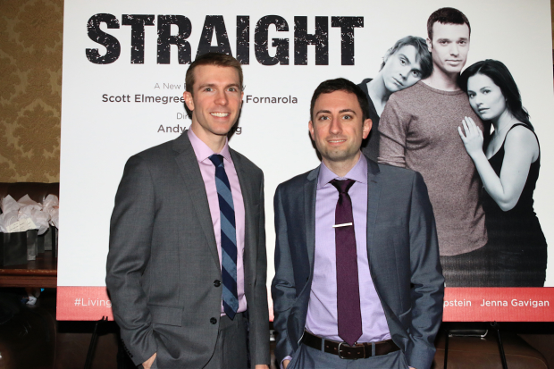 Straight is written by Scott Elmegreen and Drew Fornorola.