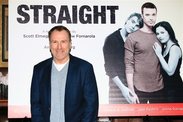 Guests at the opening-night festivities included actor/writer Colin Quinn.