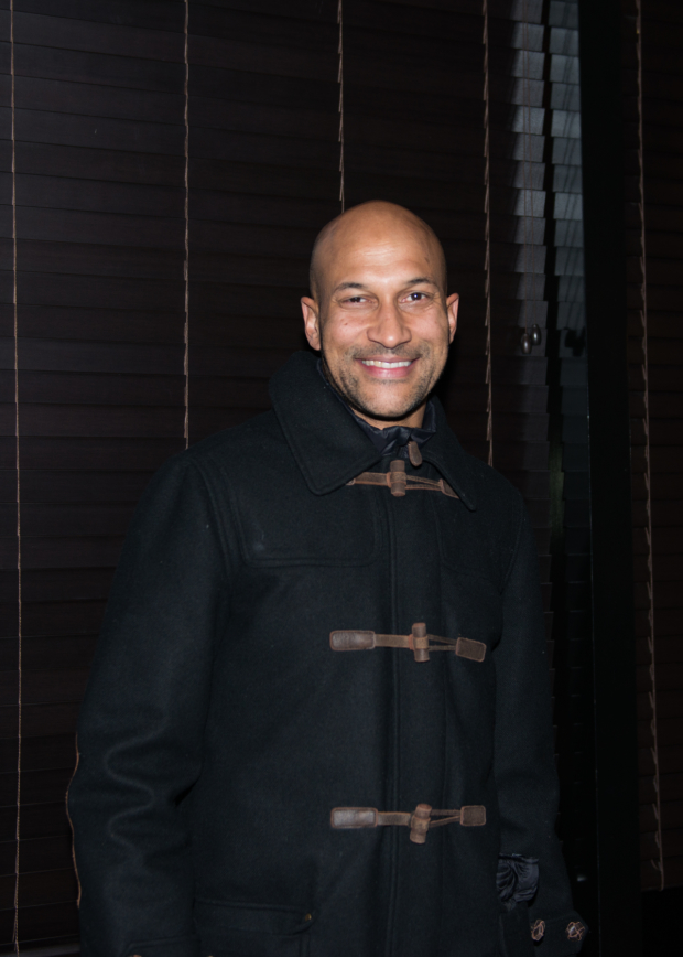 Guests at the opening-night festivities included actor-comedian Keegan-Michael Key.