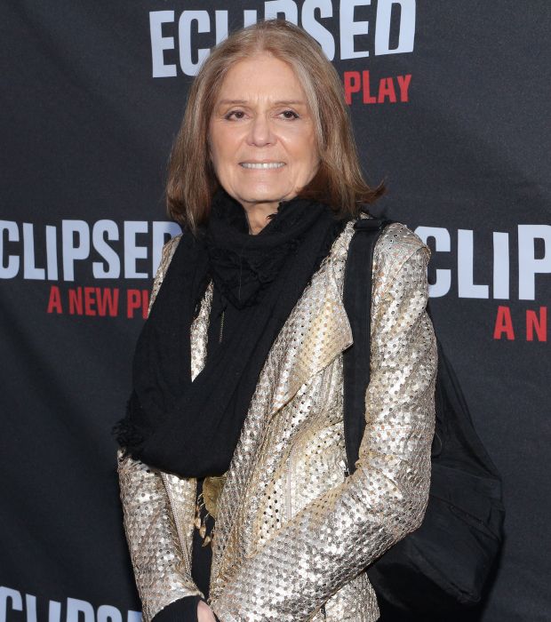 Iconic activist Gloria Steinem gets ready for a historic night at the theater.