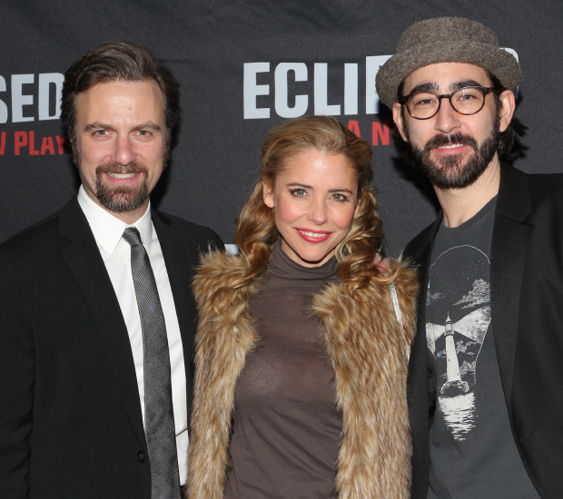 Disaster stars Manoel Felciano, Kerry Butler, and Max Crumm are ready to see Lupita Nyong'o's Broadway debut.