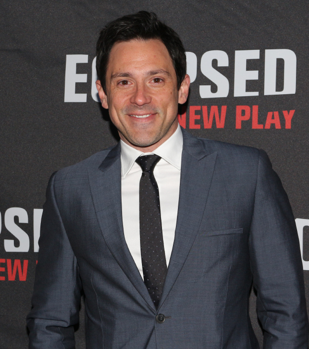 Once Tony winner Steve Kazee gets ready for a night at the theater.