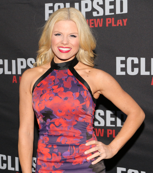 Noises Off star Megan Hilty is excited to see Eclipsed on Broadway.