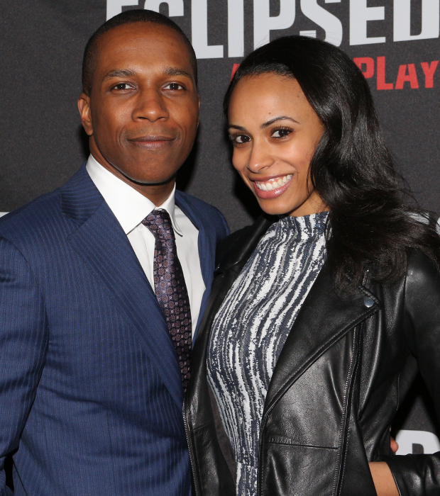 It's date night for Hamilton star Leslie Odom Jr. and his wife, Invisible Thread's Nicolette Robinson.