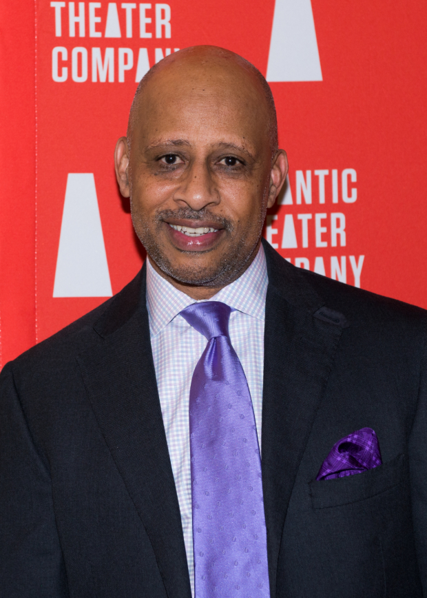 Ruben Santiago-Hudson is the director of Atlantic's acclaimed drama Skeleton Crew.