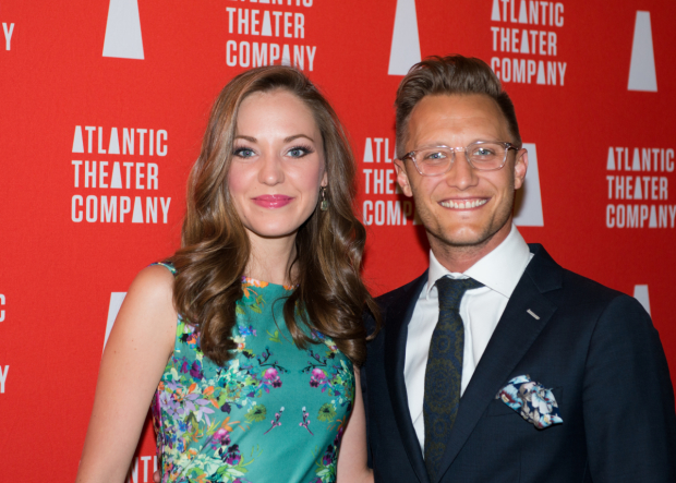 Laura Osnes, seen her with her husband, Nathan Johnson, starred in Atlantic's 2014 production of The Threepenny Opera.