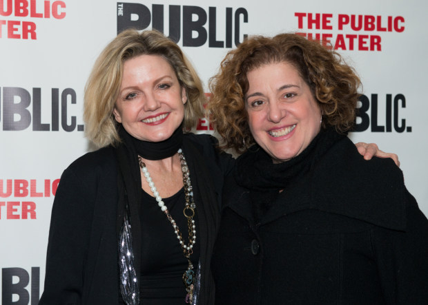 Alison Fraser and Mary Testa appeared at the Public in Michael John LaChiusa's First Daughter Suite.