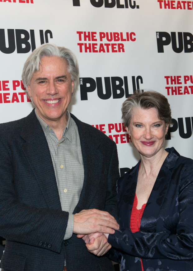 Jeff McCarthy and Annette O'Toole lead the cast of Southern Comfort at the Public Theater.