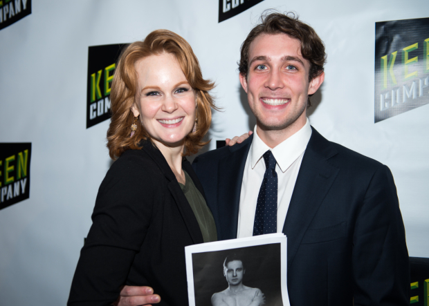 Kate Baldwin and Conor Ryan starred in Keen Company's production of Andrew Lippa and Tom Greenwald's musical John & Jen.